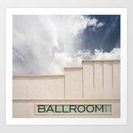 Ballroom Marfa Art Print