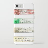 1984 iPhone & iPod Cases featuring Ministerios 1984 by Jorge Soriano