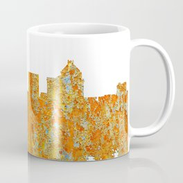 Greensboro, NC Skyline - Rust Coffee Mug