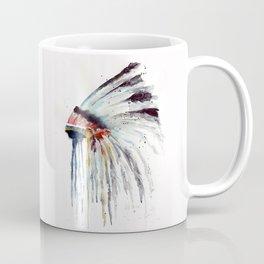 Indian Headress Coffee Mug