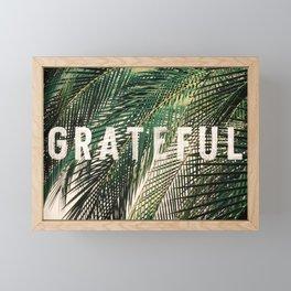 Grateful Framed Mini Art Print