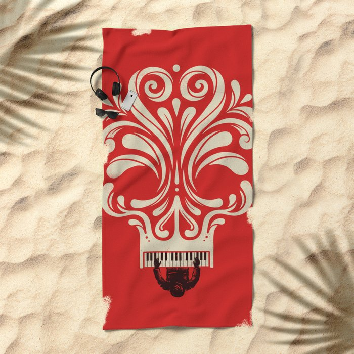 Killer Tune Beach Towel