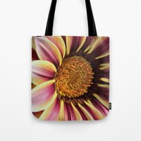 racing Tote Bags featuring Racing Stripes by IowaShots