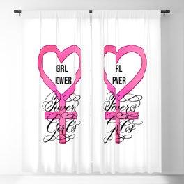 Girl Power Powers Girls Blackout Curtain