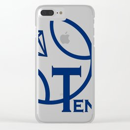 Tennis Clear iPhone Case