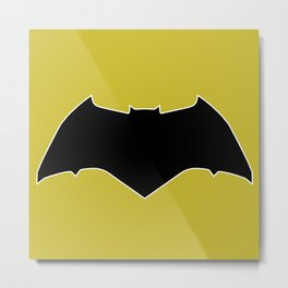 Dawn of Justice : Bat Symbol Metal Print