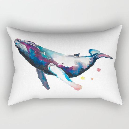 Humpback Whale Rectangular Pillow