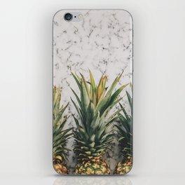 Three ananas iPhone Skin