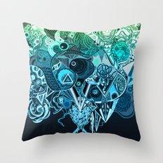 Metamorphosis Throw Pillow