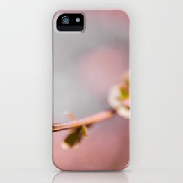 pink blossom 1 iPhone Case