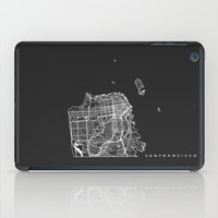 san francisco iPad Cases featuring SAN FRANCISCO by Nicksman