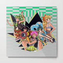 Sailor Rave Metal Print