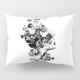 Broken BW Pillow Sham