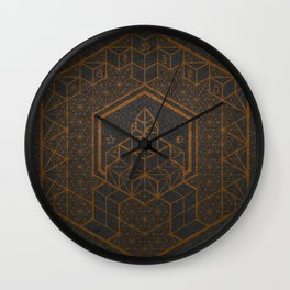 The Inner Truth Copper Wall Clock