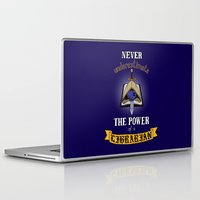 warhammer Laptop & iPad Skins featuring Librarian, Warhammer 40K by ZsaMo Design