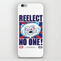 politics iPhone & iPod Skins featuring Polar Bear Politics by Clore Concepts Chucks Stuff