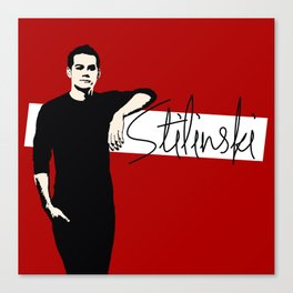 Team Human: Stilinski  Canvas Print