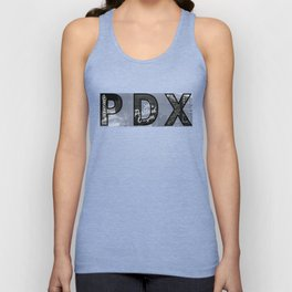 PDX Sites Sighted Unisex Tank Top