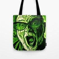 scream Tote Bags featuring SCREAM! by Silvio Ledbetter
