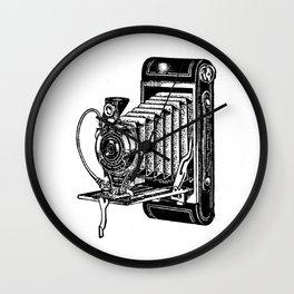 Kodak Folding Camera Wall Clock