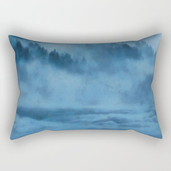 Forest Above the Clouds Rectangular Pillow