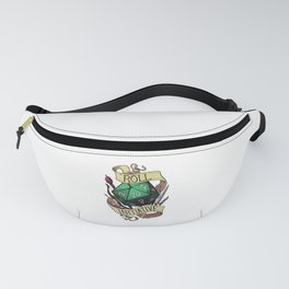 Aesthetic Japanese THICC Logo Fanny Pack