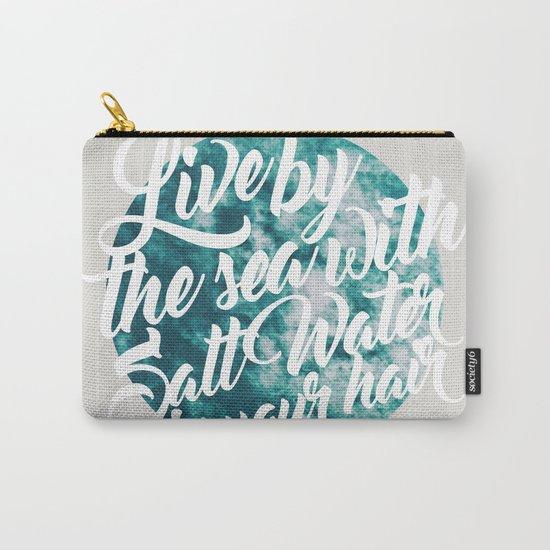 Salt Water #society6 #decor #buyart Carry-All Pouch