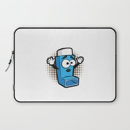 ASTHMA PLAYING LIFE ON HARD MODE Inhaler GIFT Laptop Sleeve