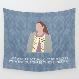 The Reichenbach Fall - Molly Hooper Wall Tapestry
