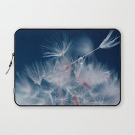 Snow Dandelion Laptop Sleeve