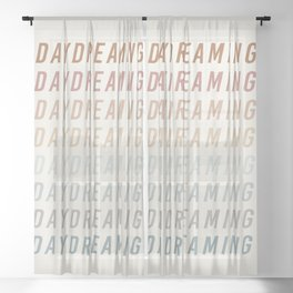 Daydreaming Sheer Curtain