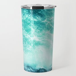 Deep Green Sea Travel Mug
