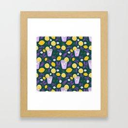 Lavender Lemonade Framed Art Print