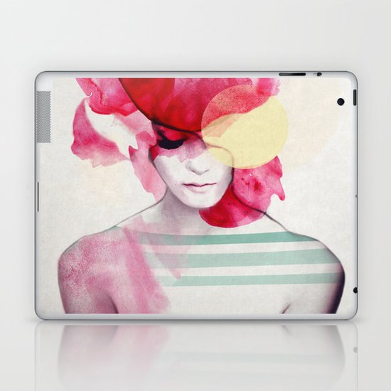 Bright Pink - Part 2 Laptop & iPad Skin