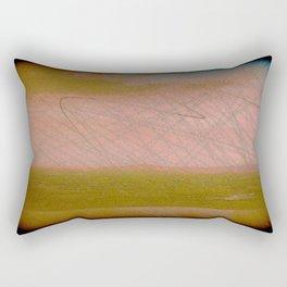 Postcard From The Hill Rectangular Pillow