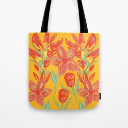 Cheerful Floral  Tote Bag