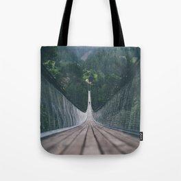 Crossing bridges. Tote Bag