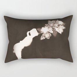 Negative Kiss Rectangular Pillow