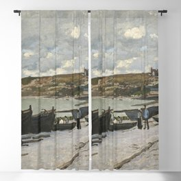 Claude Monet - Sainte-Adresse.jpg Blackout Curtain