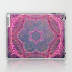 whimsical fractal love in pink Laptop & iPad Skin