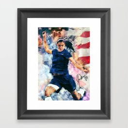 Alex Morgan Framed Art Print