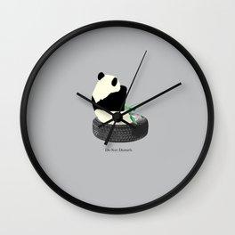 do not disturb. PANDA Wall Clock