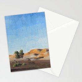 Entering the Sahara at Merzouga Stationery Cards
