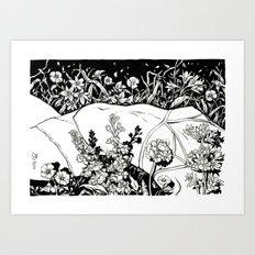 fluidity I Art Print
