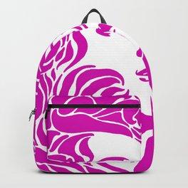 """Koloman (Kolo) Moser """"Girl's head"""" (2) Backpack"""