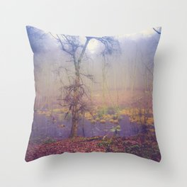 SWAMPY FOREST 3 (everyday 05.01.2017) Throw Pillow