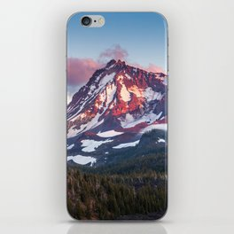 North Sister Mountain at Sunset iPhone Skin