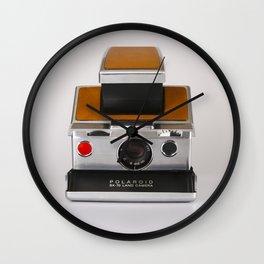 Polaroid SX-70 Land Camera Wall Clock