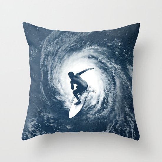 Category 5 Throw Pillow