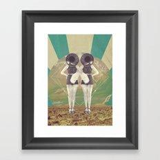 UNIVERSOS PARALELOS 005 Framed Art Print